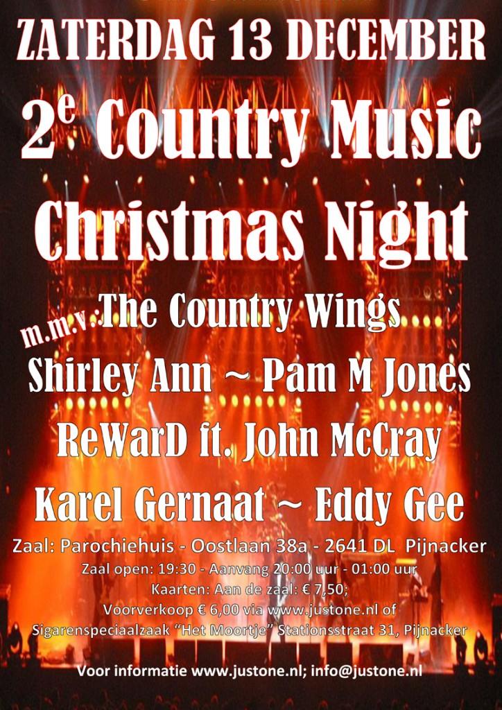 Flyer - 2e Country Music Christmas Night web