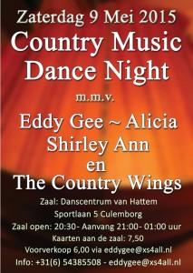 Countrydansavond met Eddy Gee @ Danscentrum van Hattem | Culemborg | Gelderland | Netherlands