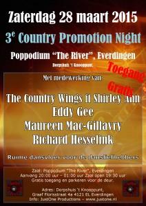 3e Country Promotion Night @ Poppodium The River | Everdingen | Utrecht | Netherlands