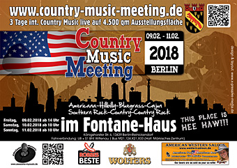 Country Music Meeting, Berlijn.